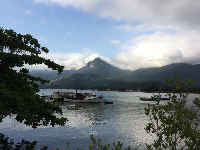 Ilhabela - Baepi visto da balsa