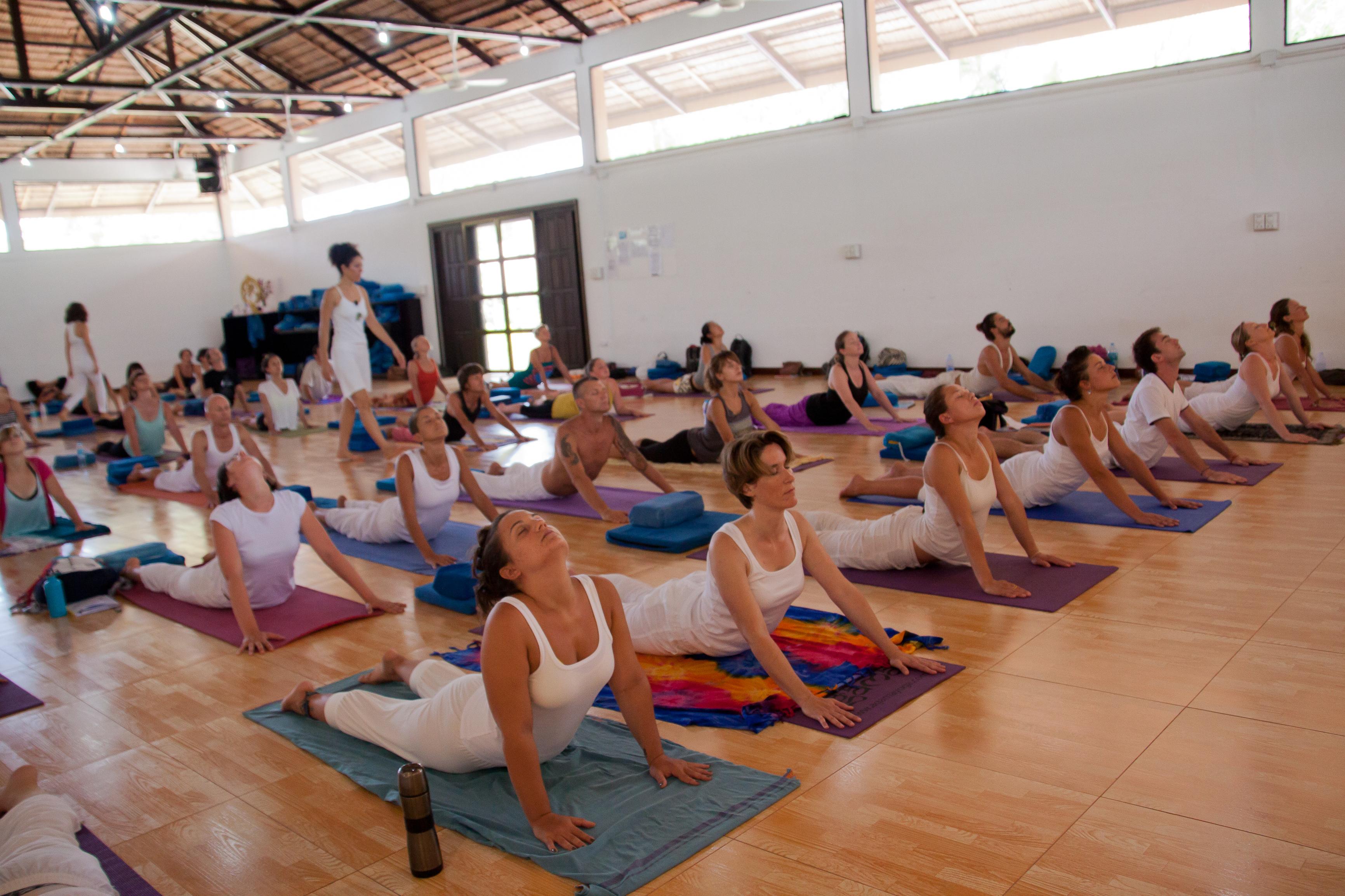 A escola de yoga na Tailândia que atrai pessoas do mundo inteiro